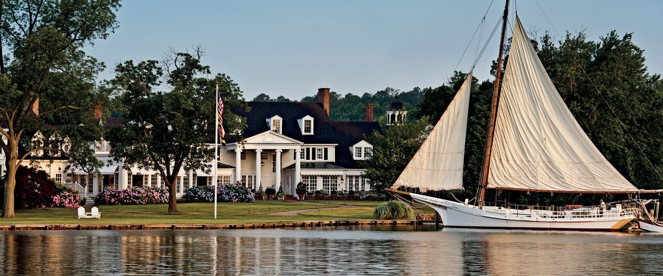 Ultimate List of Best Luxury Hotels in St. Michaels, Maryland, Inn at Perry Cabin by Belmond