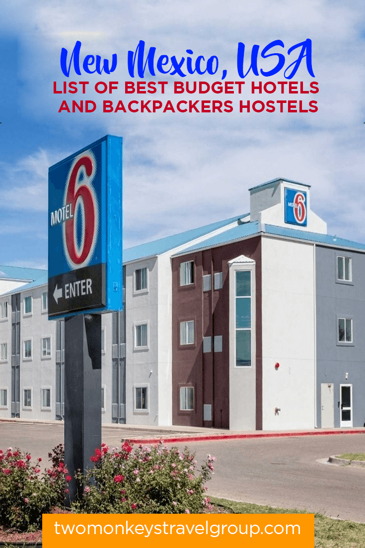 New Mexico, USA - List of Best Budget Hotels and Backpackers Hostels