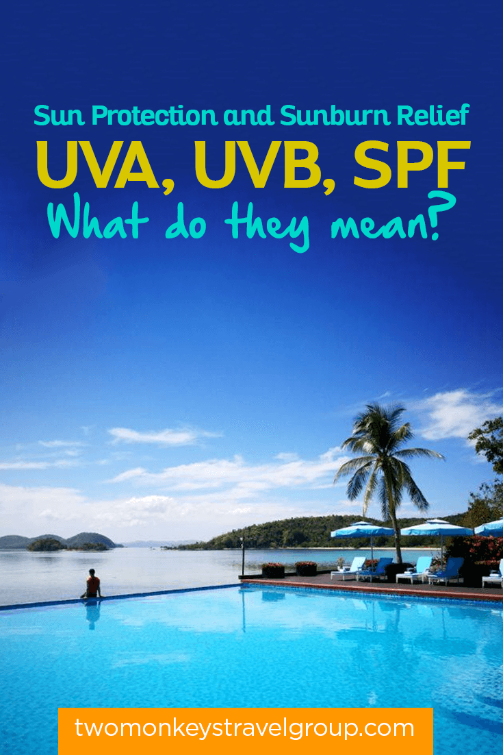 Sun Protection and Sunburn Relief - UVA, UVB, SPF – What do they mean?