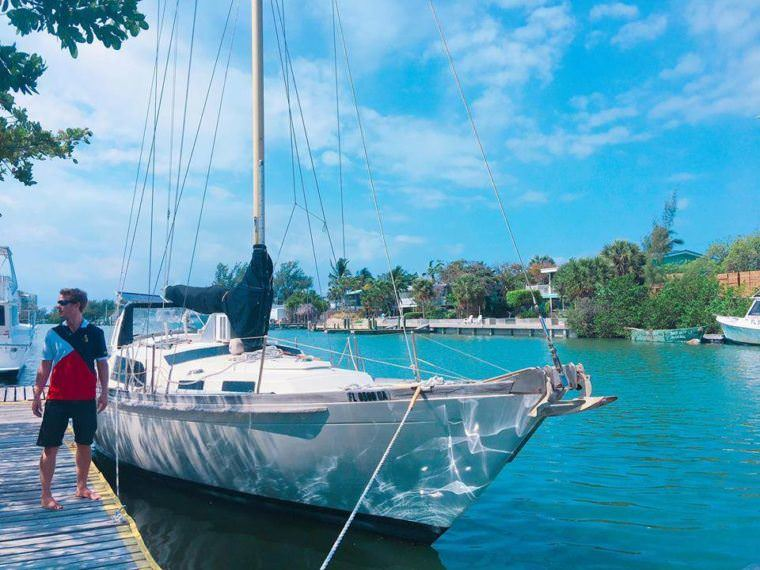 Two Monkeys Travel - Sailing Sv Empress - Sail boat restoration and repair 1
