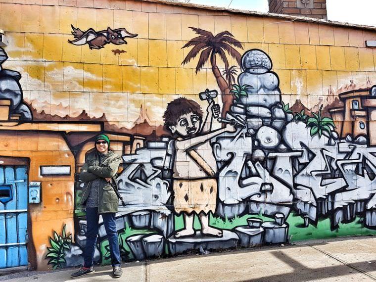 Street Art in Quebec Canada