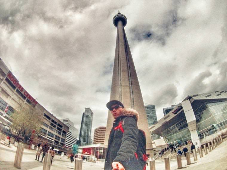 CN Tower in Toronto Canada