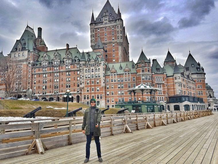 Fairmont Le Chateau Frontenac Quebec Canada