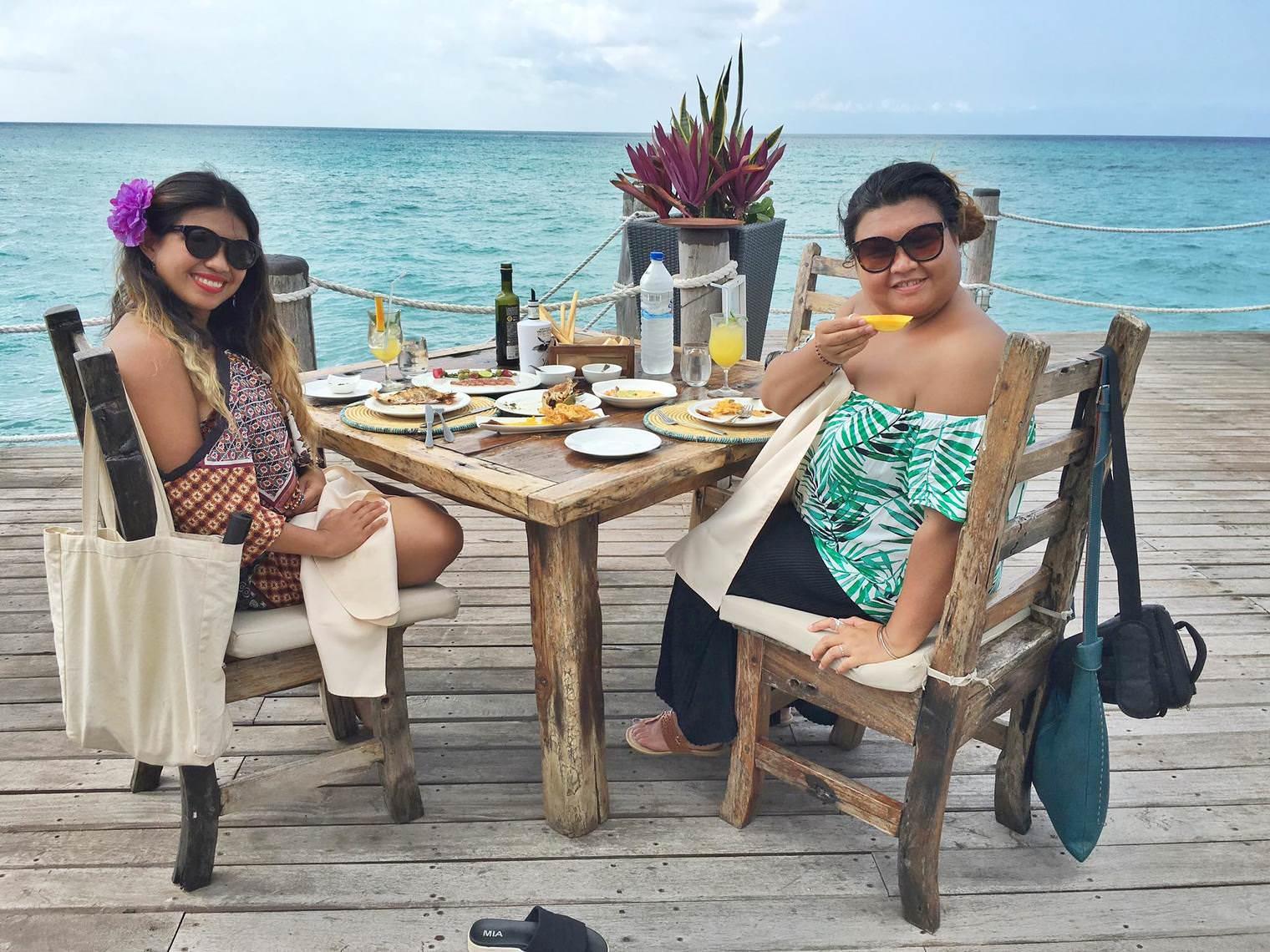 Lunch at the Jetty, Essque Zanzibar