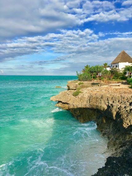 Sea side of Essque Zalu Zanzibar