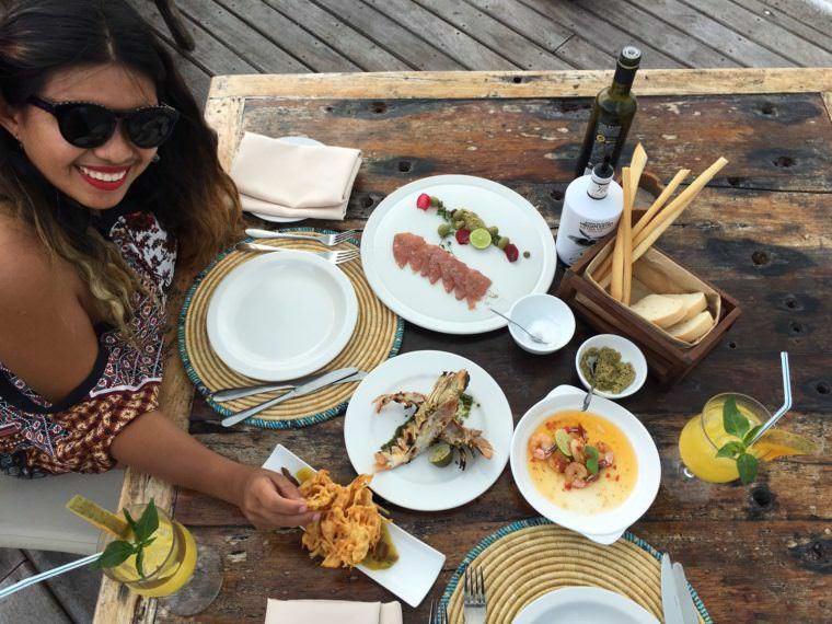 Lunch at the Jetty of Essque Zalu Zanzibar 15