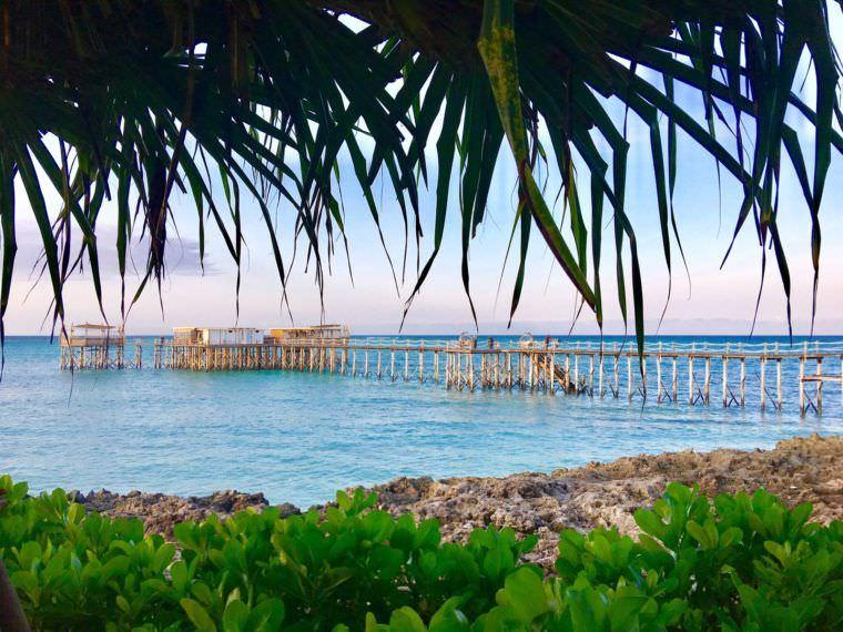 The Jetty of Essque Zalu Zanzibar