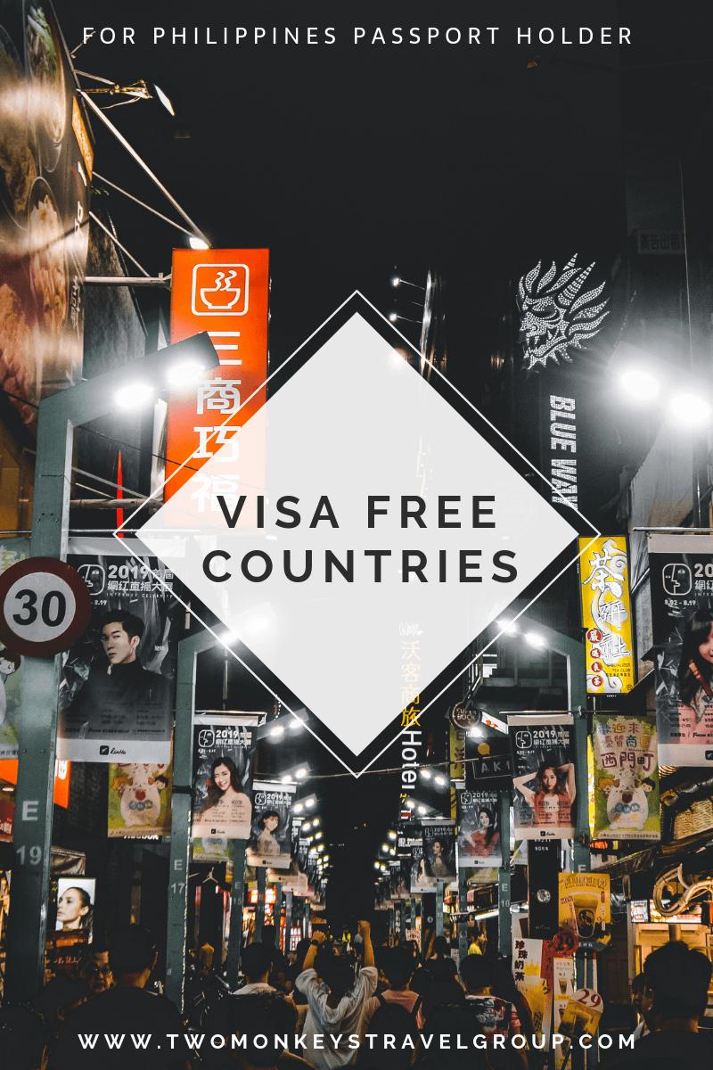 Pinterest visa free countries philippines passport filipino1