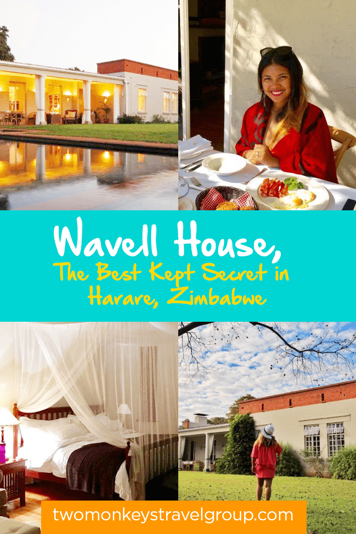 Wavell House, The Best Kept Secret in Harare, Zimbabwe