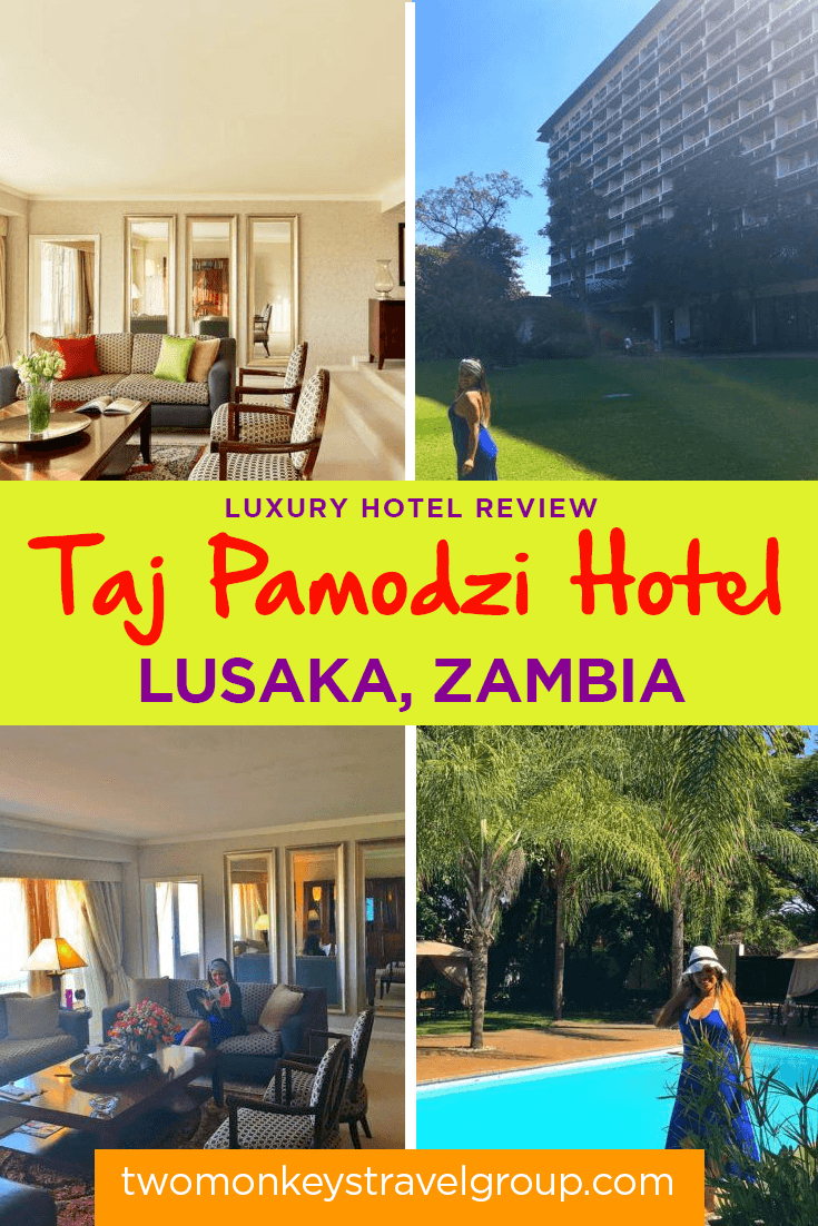 Taj Pamodzi: An Extravagant Business Hotel In The District of Lusaka, Zambia