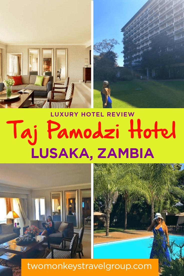 Taj Pamodzi: An Extravagant Business Hotel In The District of Lusaka, Zambia
