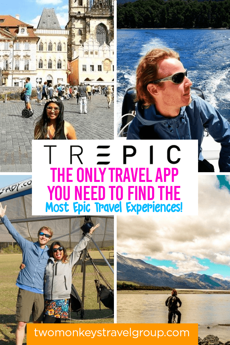 Trepic - The Only Travel App you Need to Find the Most Epic Travel Experiences!