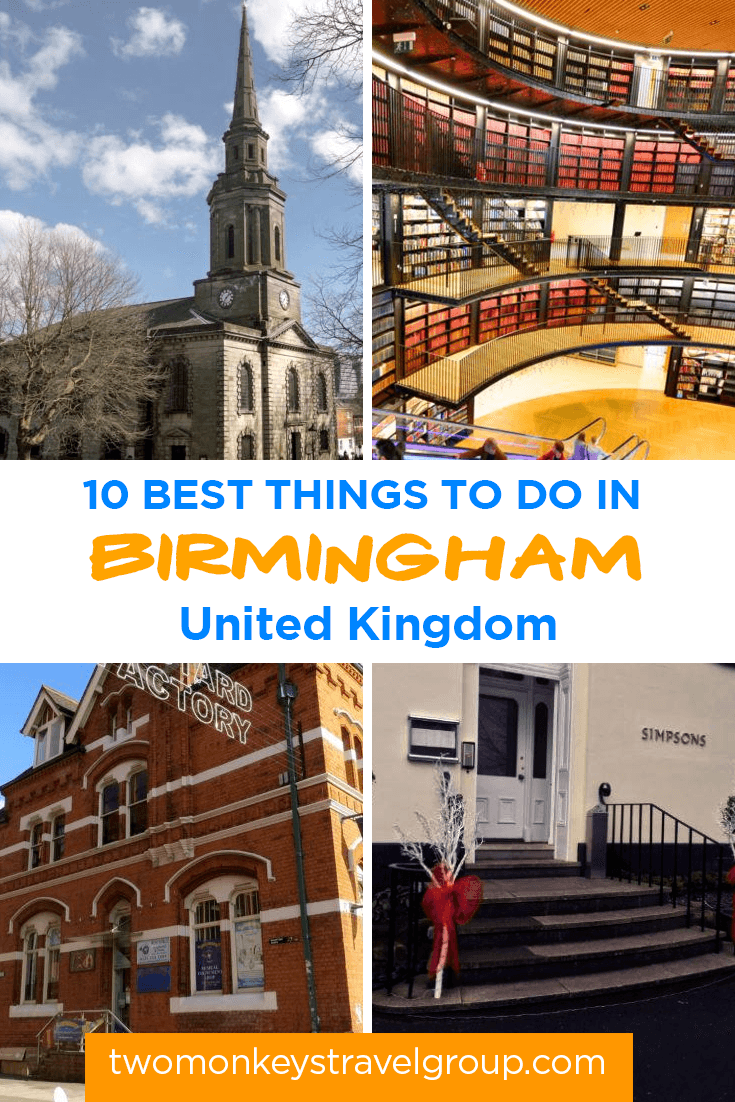 10 Best Things to Do in Birmingham, United Kingdom – Where to Go, Attractions to Visit
