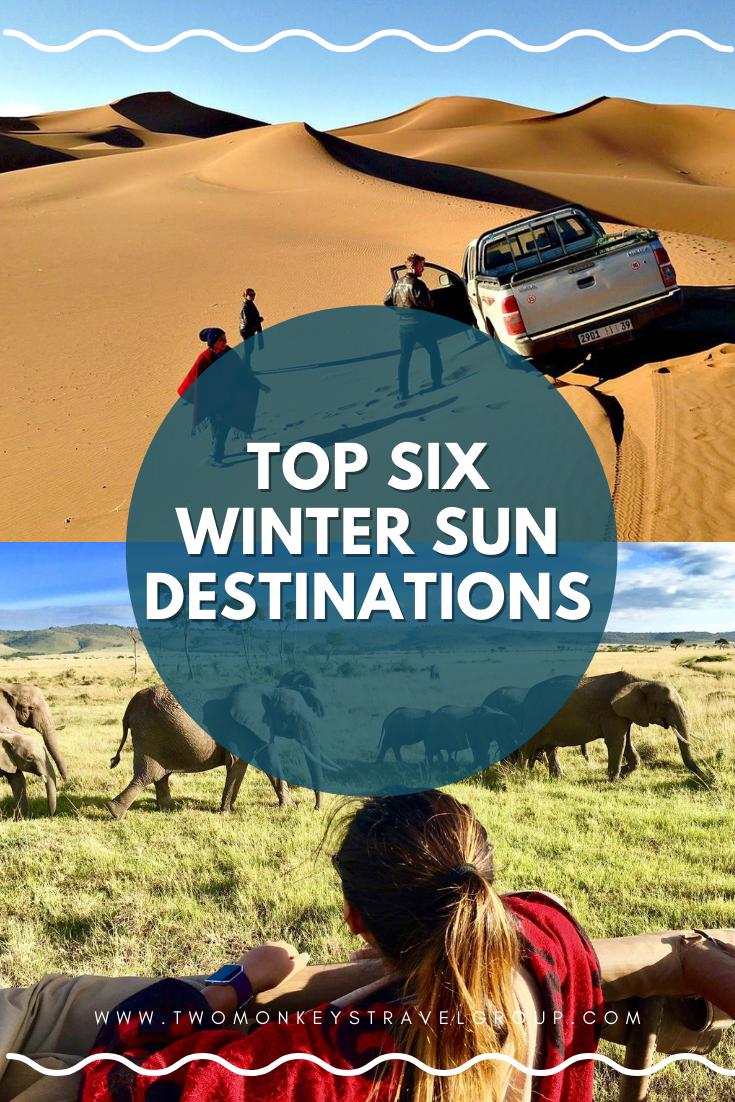 Escape the Cold Top Six Winter Sun Destinations