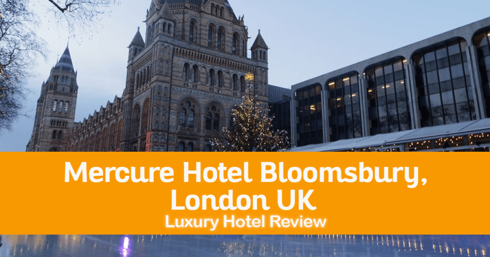 Mercure Hotel Bloomsbury : A Posh Hotel Located In The Heart Of Bloomsbury, London