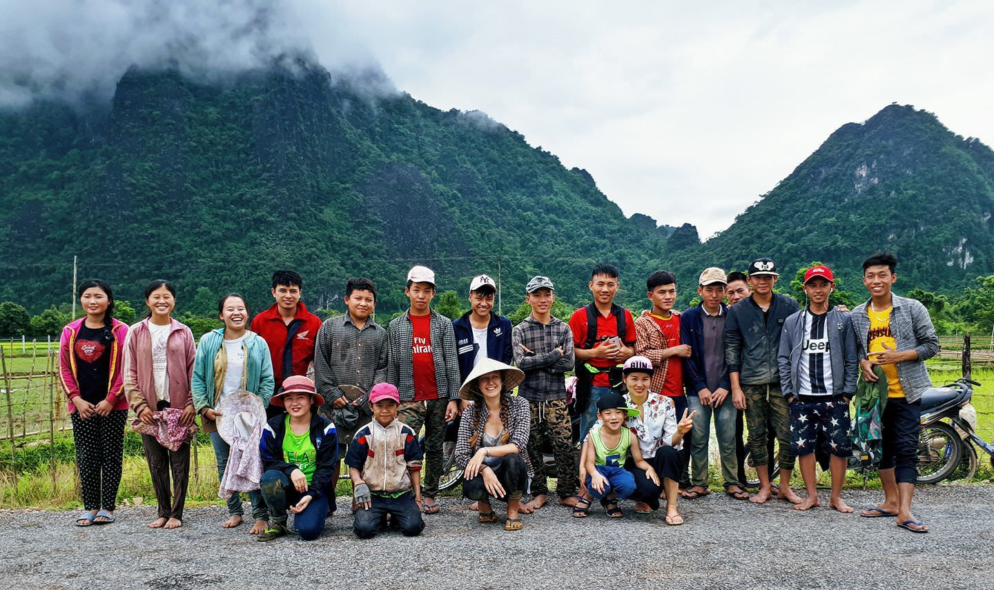 The Sae Lao Project in Vang Vieng, Laos