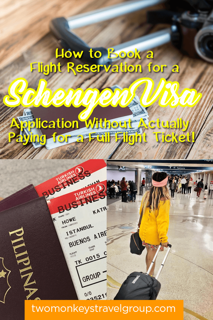How to Book a Flight Reservation for a Schengen Visa Application Without Actually Paying for a Full Flight Ticket!