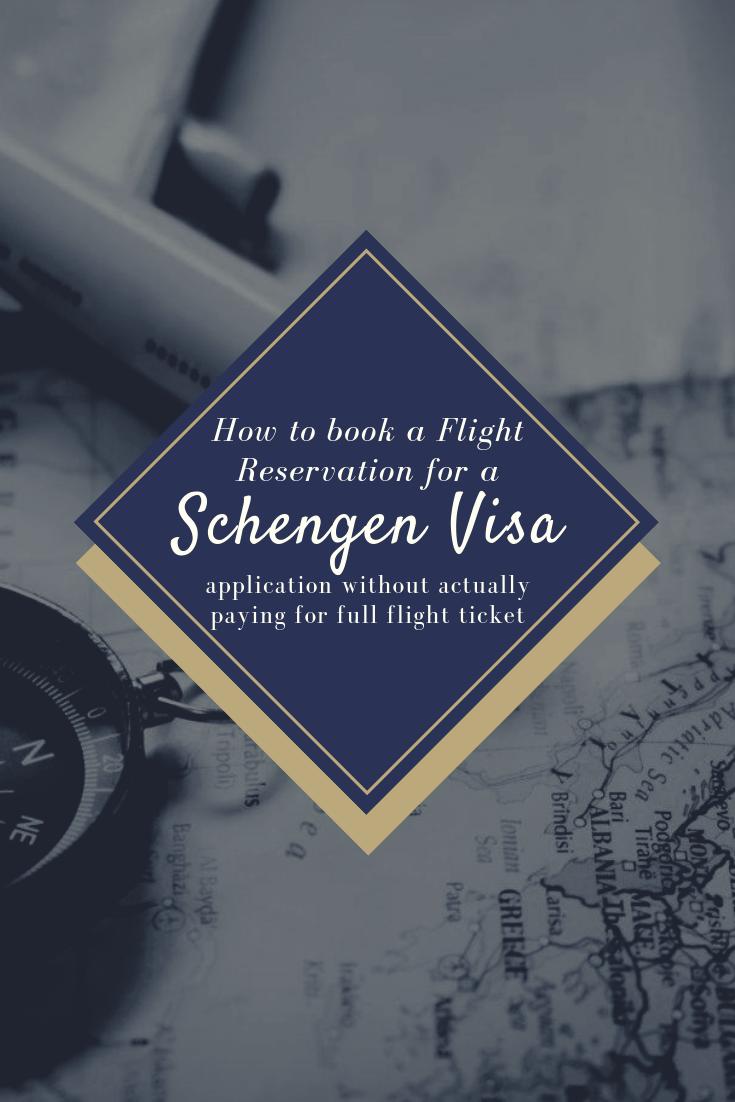 Pinterest1 book flight reservation schengen visa application