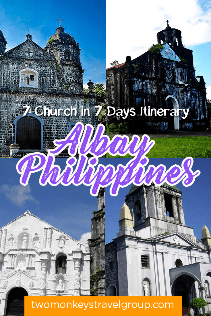 Visita Iglesia in Albay, Philippines - 7 Church in 7 Days Itinerary