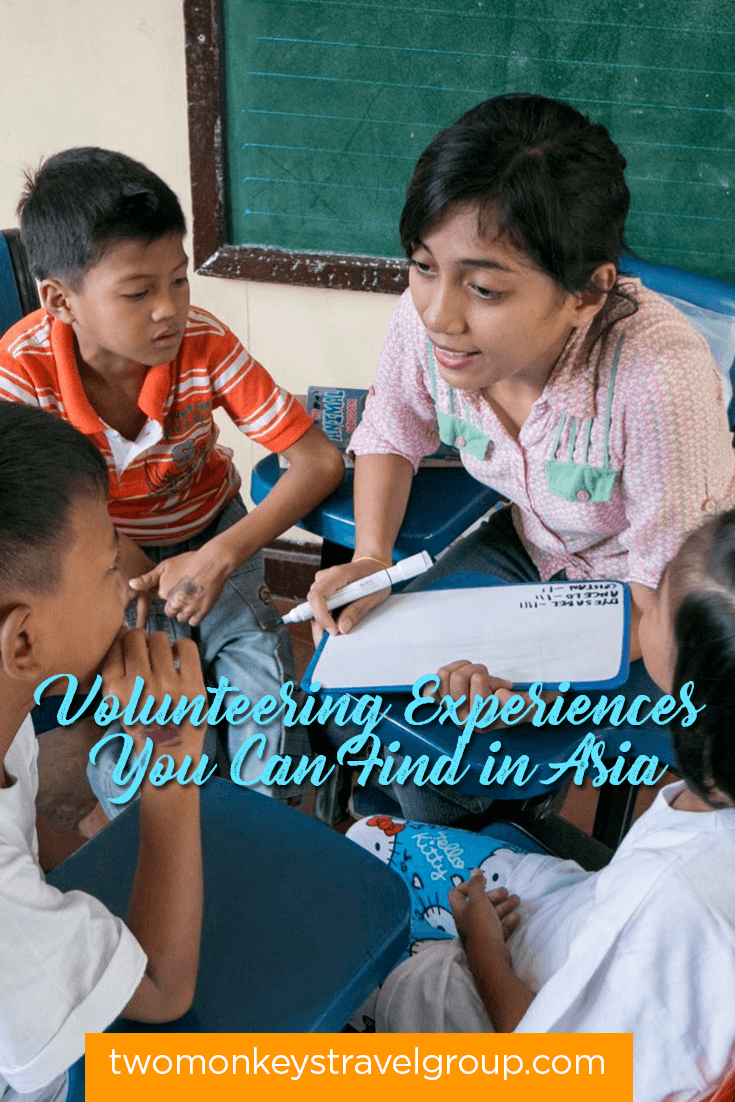 7 Types of Volunteering Experiences You Can Find in Asia