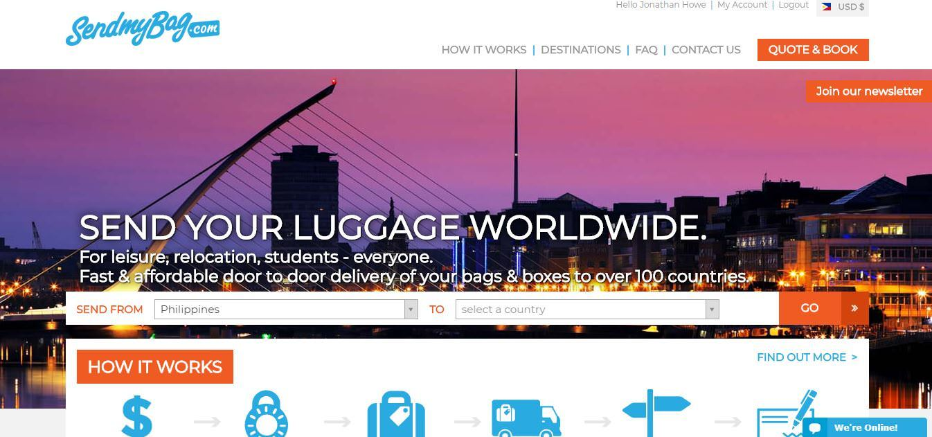 How to Ship Packages and Luggage from The Philippines to USA
