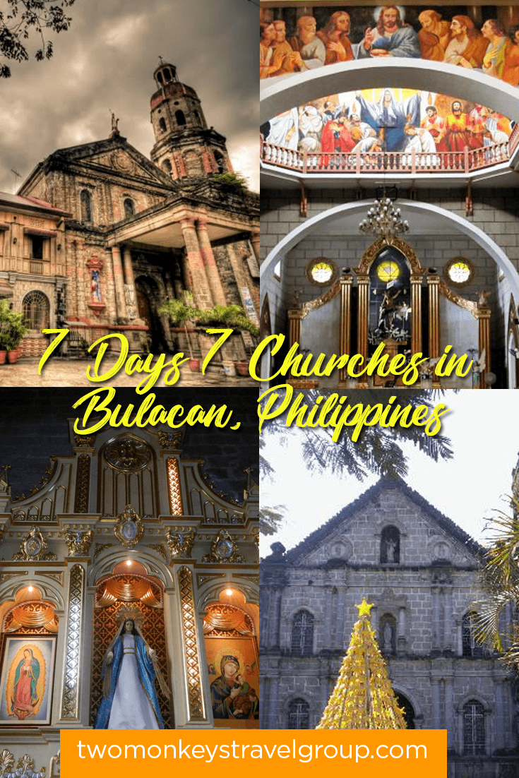 Itinerary for Visita Iglesia in Bulacan, Luzon - 7 Days Seven Churches in Bulacan