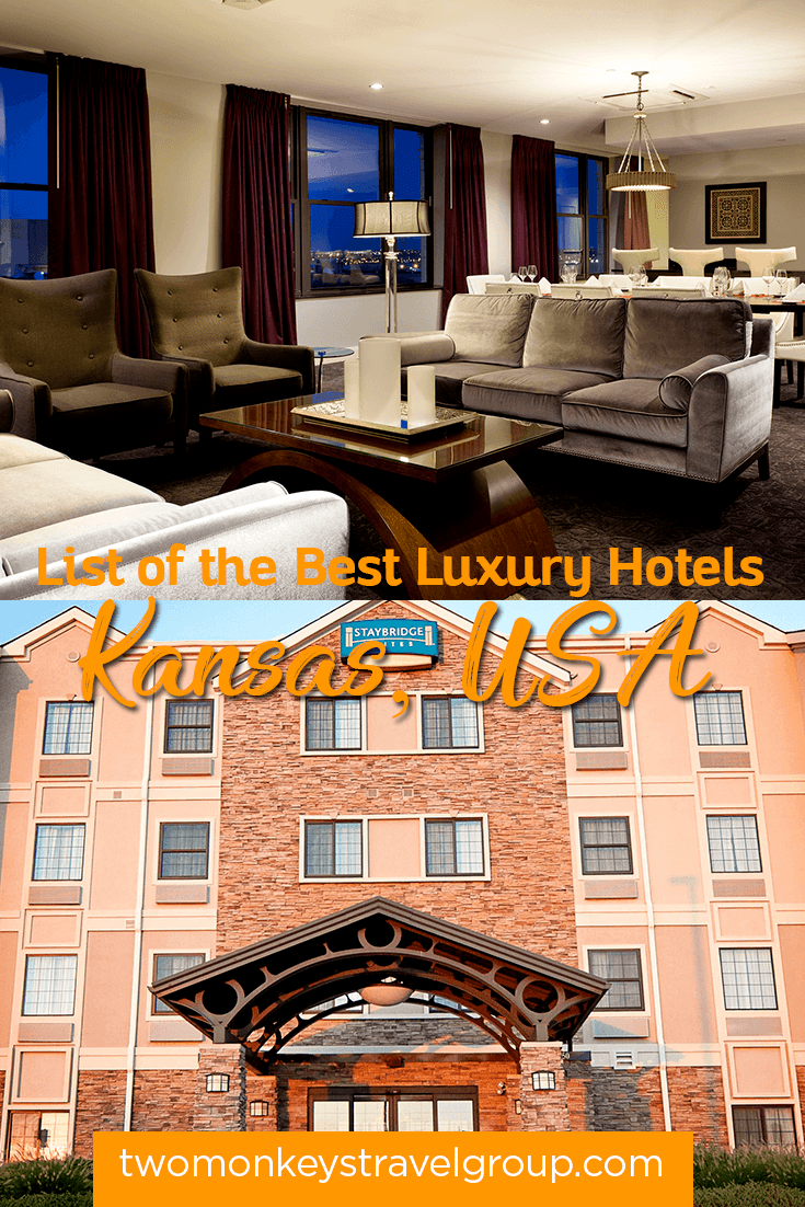 List of the best hotels in kansas usa from cheap to for Cheap luxury hotels
