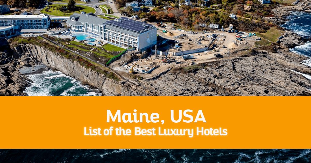 Camden Maine Luxury Hotels