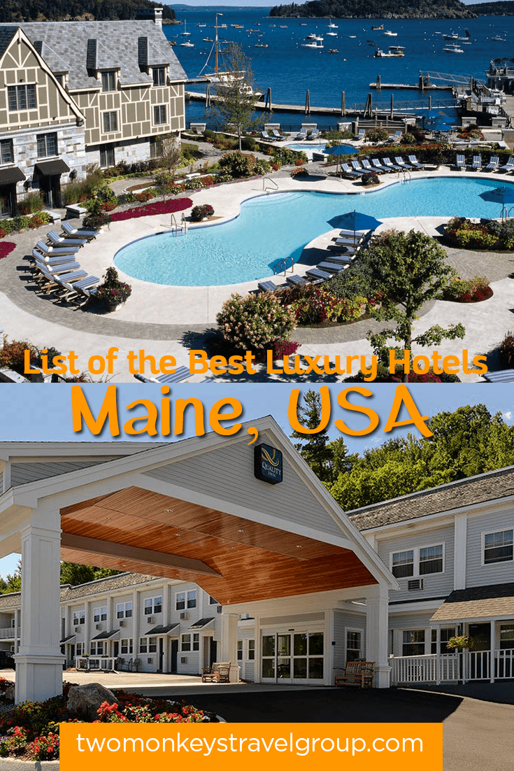 List of the best hotels in maine usa from cheap to for Luxury hotel for cheap