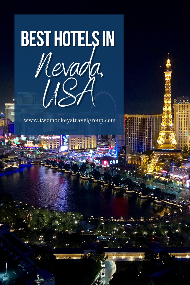 Best Hotels in Nevada, USA from Cheap to Luxury Hotels