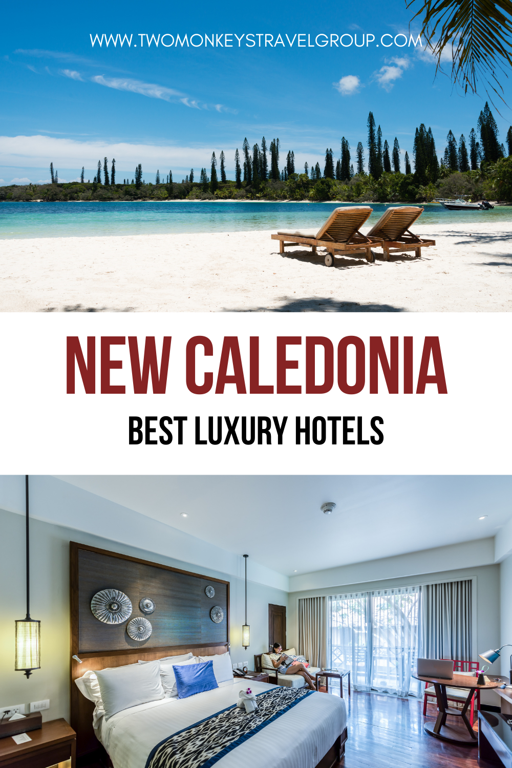 List of the Best Luxury Hotels in New Caledonia (Pacific Ocean)