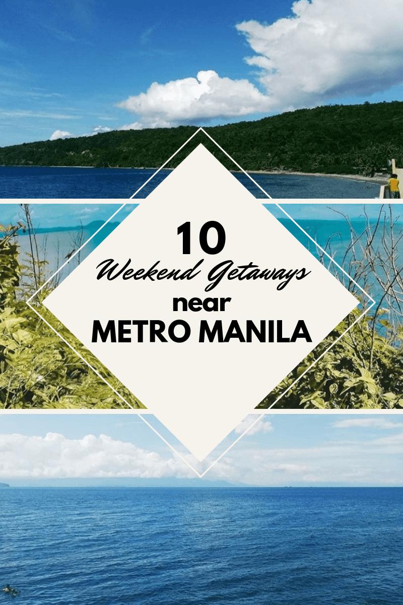 Pinterest1 10 weekend getaways near metro manila