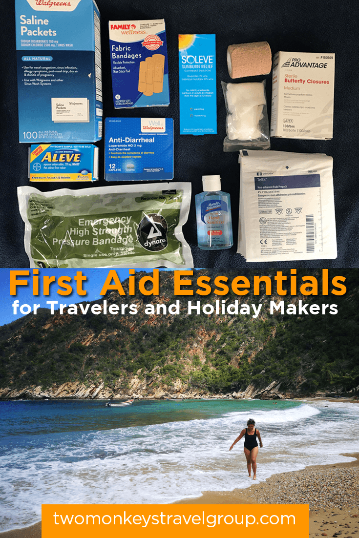First Aid Essentials for Travelers and Holiday Makers - Prepare, for a better experience