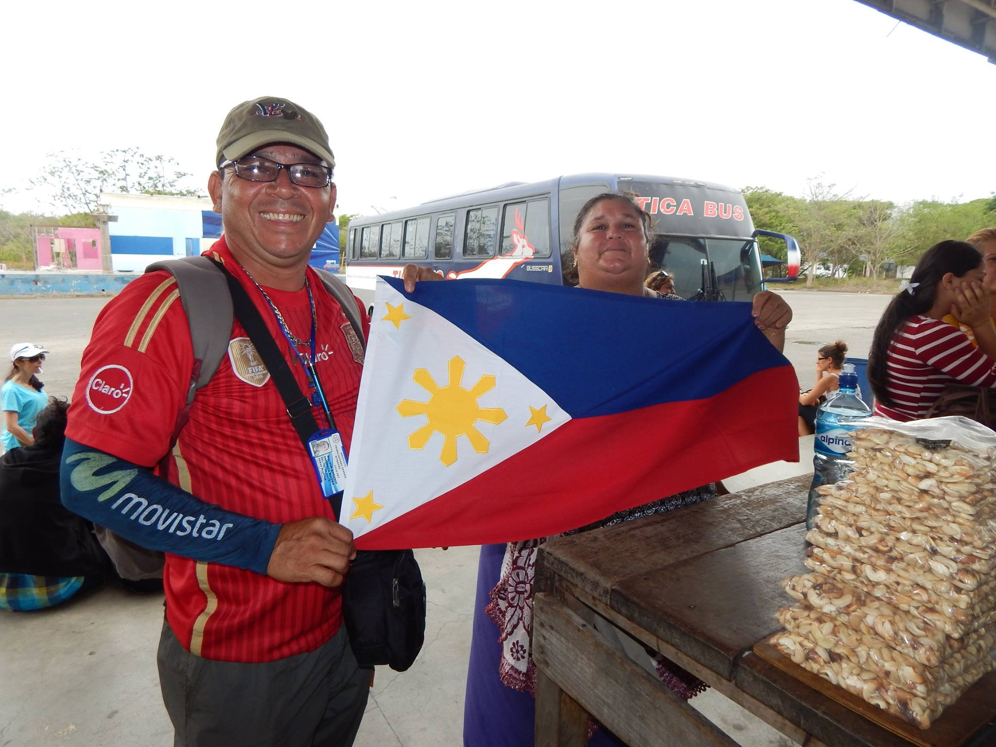 Crossing the Border of Costa Rica and Nicaragua