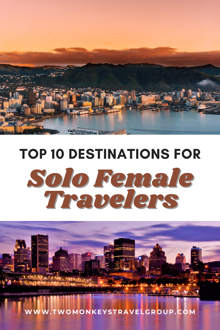 Top 10 Destinations for Solo Female Travelers