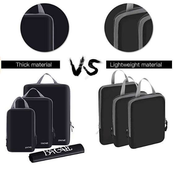 Bagail Packing Cubes - Luggage organisers 1
