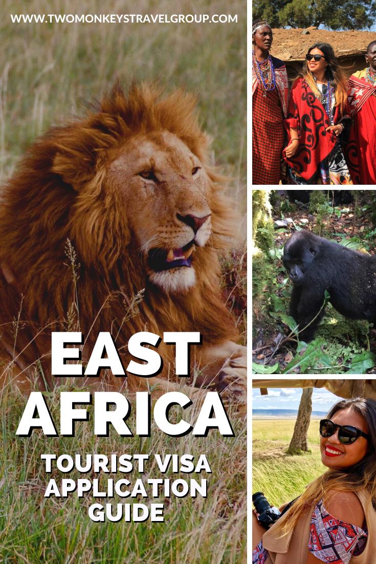 EAST AFRICA TOURIST Visa for Kenya, Uganda & Rwanda Guide for Philippines Passport Holder