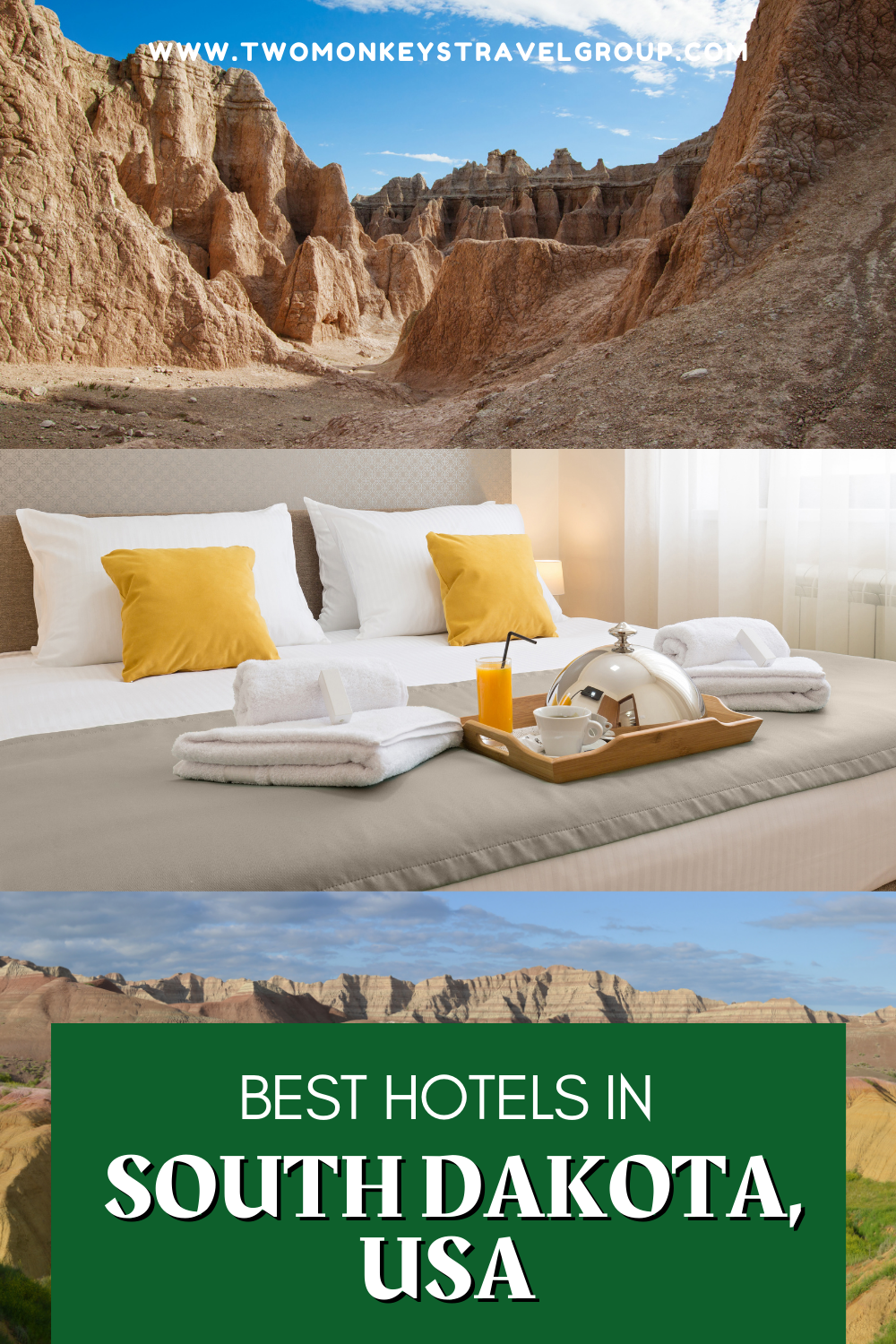 Complete List of Recommended Best Hotels in South Dakota, USA