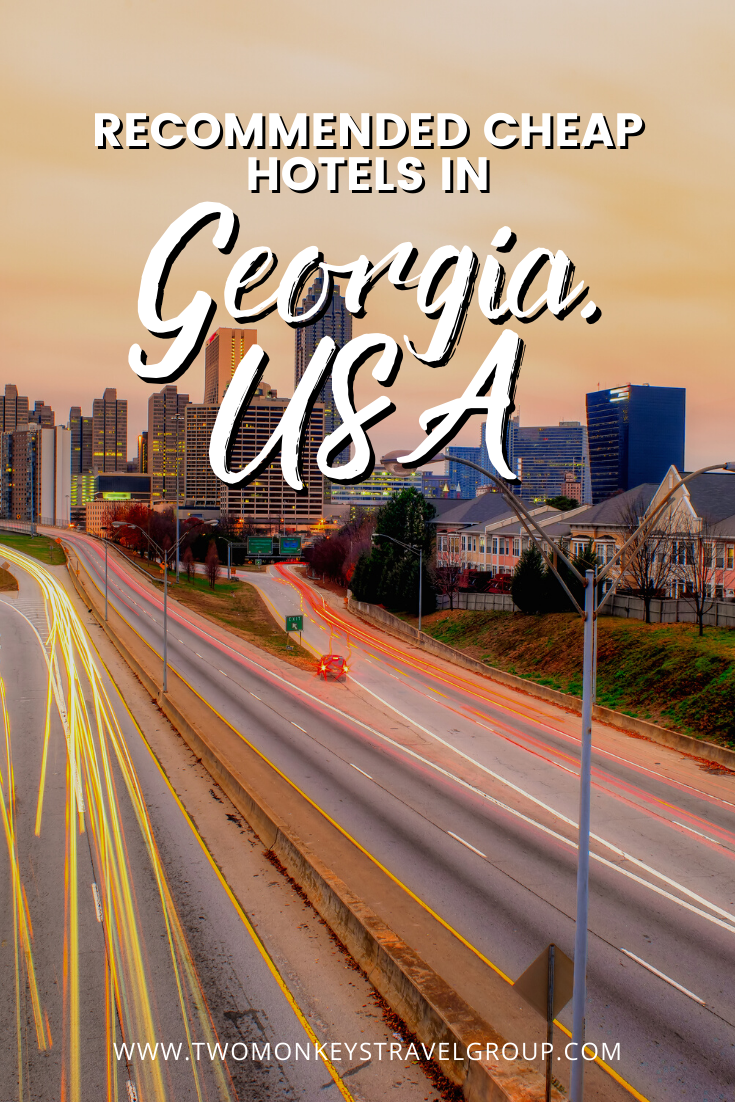 Complete List of Recommended Cheap Hotels in Georgia, USA