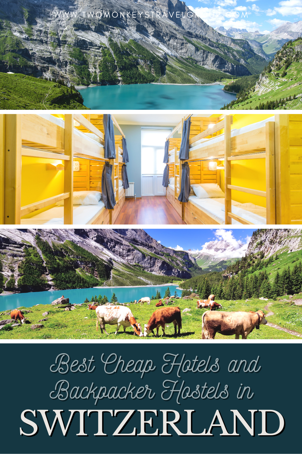 Complete List of Recommended Best Cheap Hotels and Backpacker Hostels in Switzerland