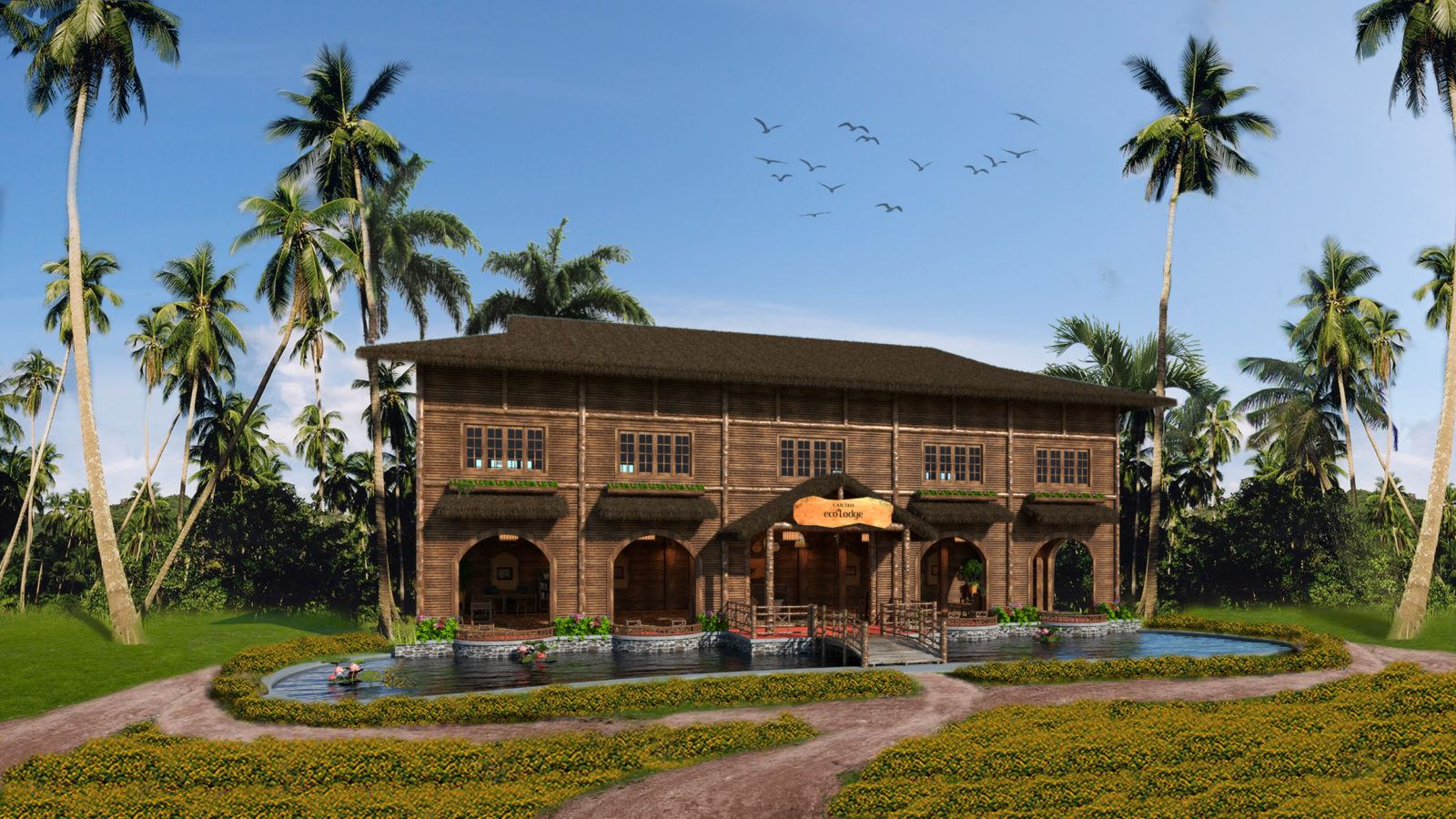 The Mekong Delta welcomes Can Tho Ecolodge, an Eco luxury accommodation in South Vietnam