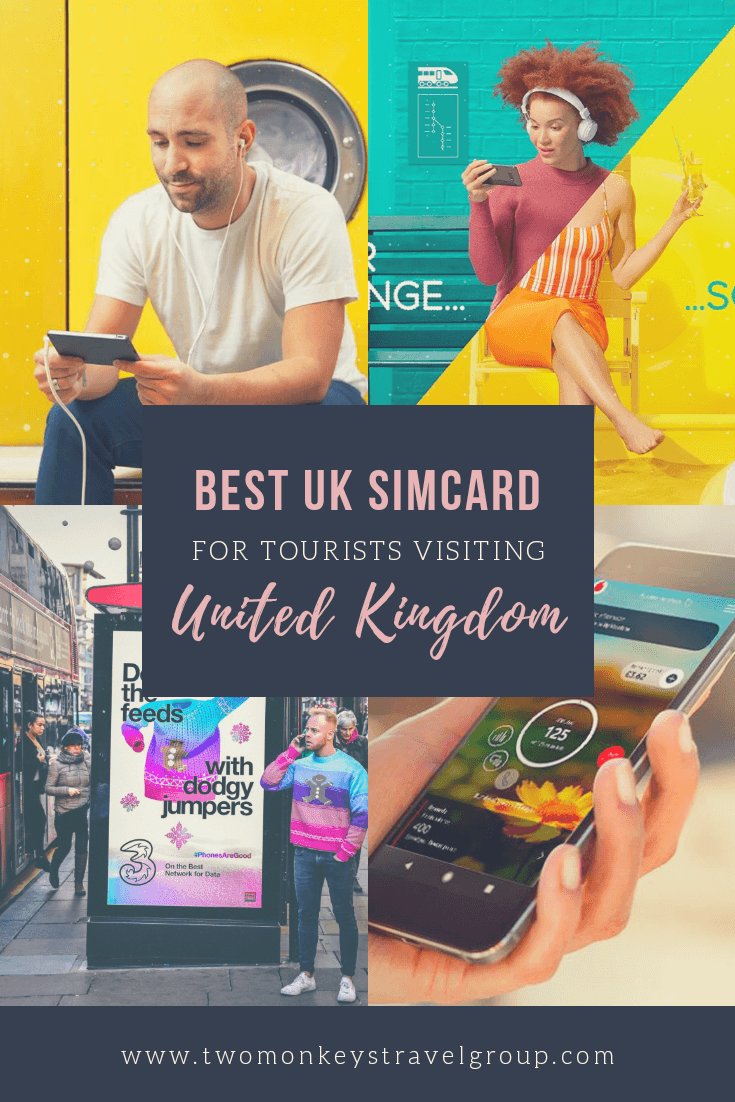 Best UK Sim Card To Use For Tourists Visiting United Kingdom