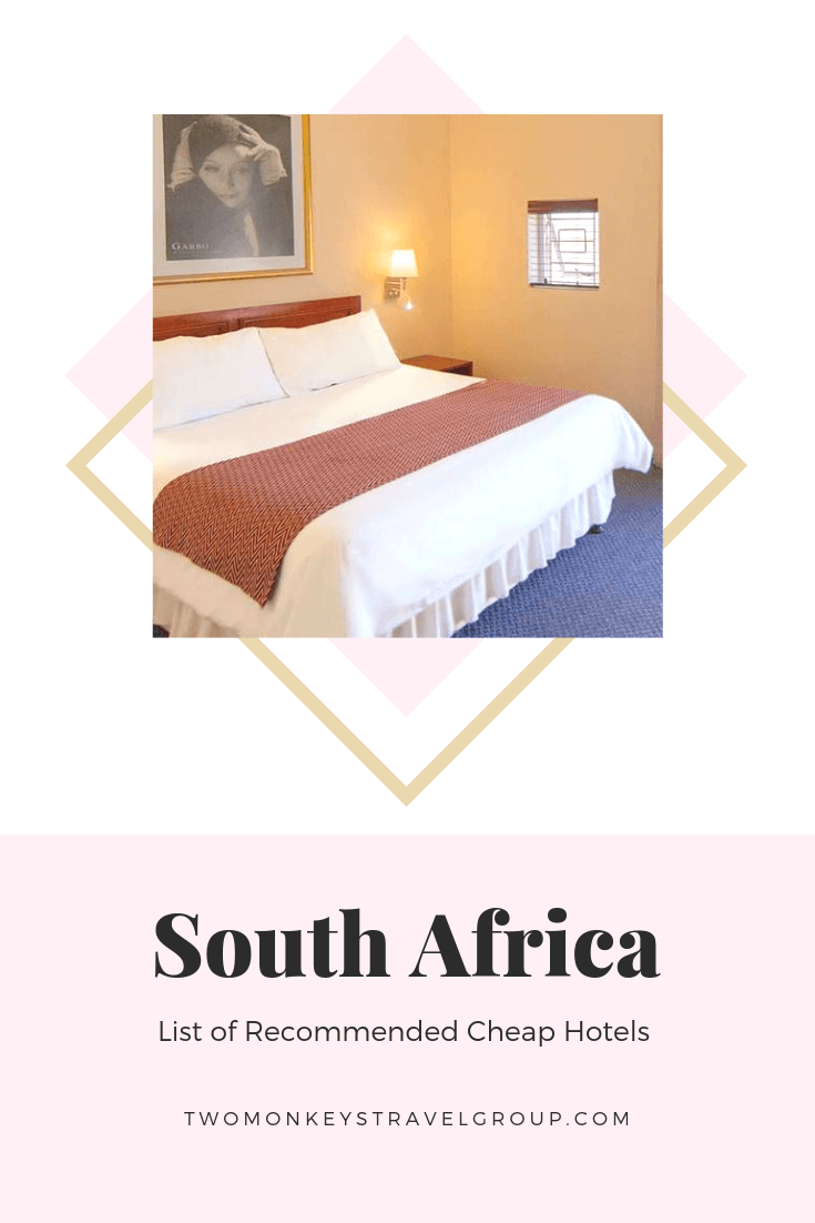 Complete List of Recommended Cheap Hotels in South Africa Updated for 2019a2