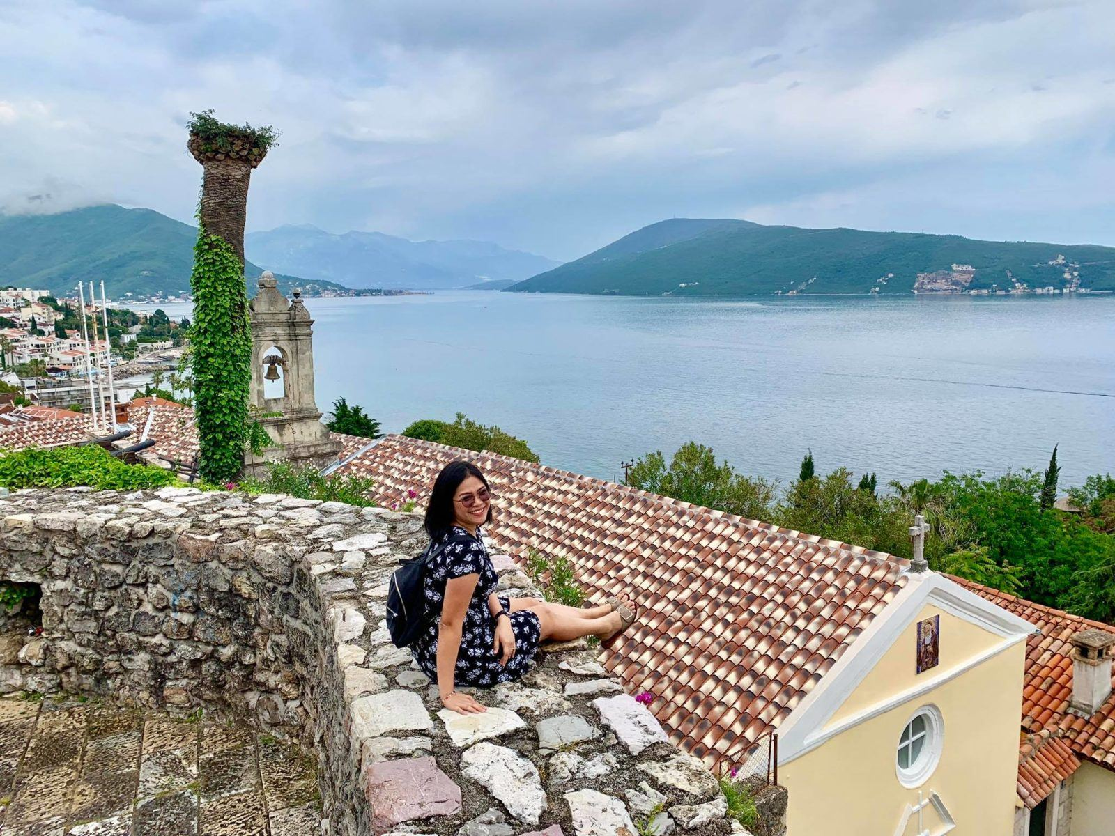 Expat Life in Montenegro Day 3 We have our first visitor already in our new home here in Herceg Novi