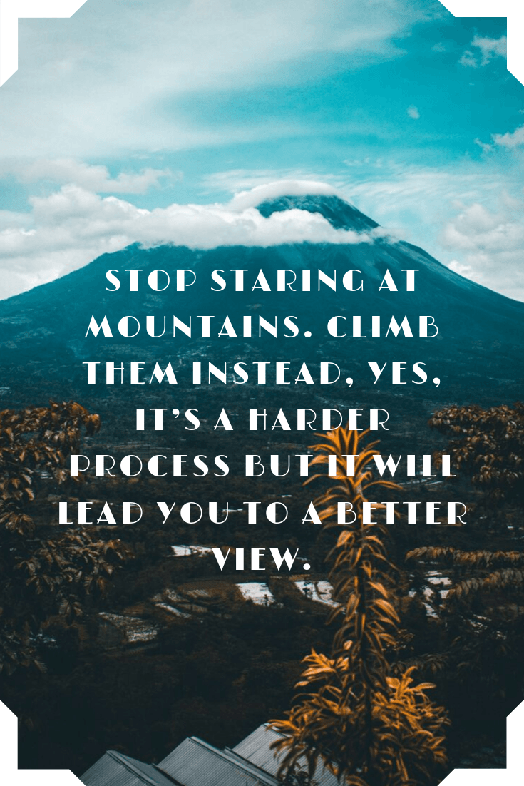 Best Mountain Quotes