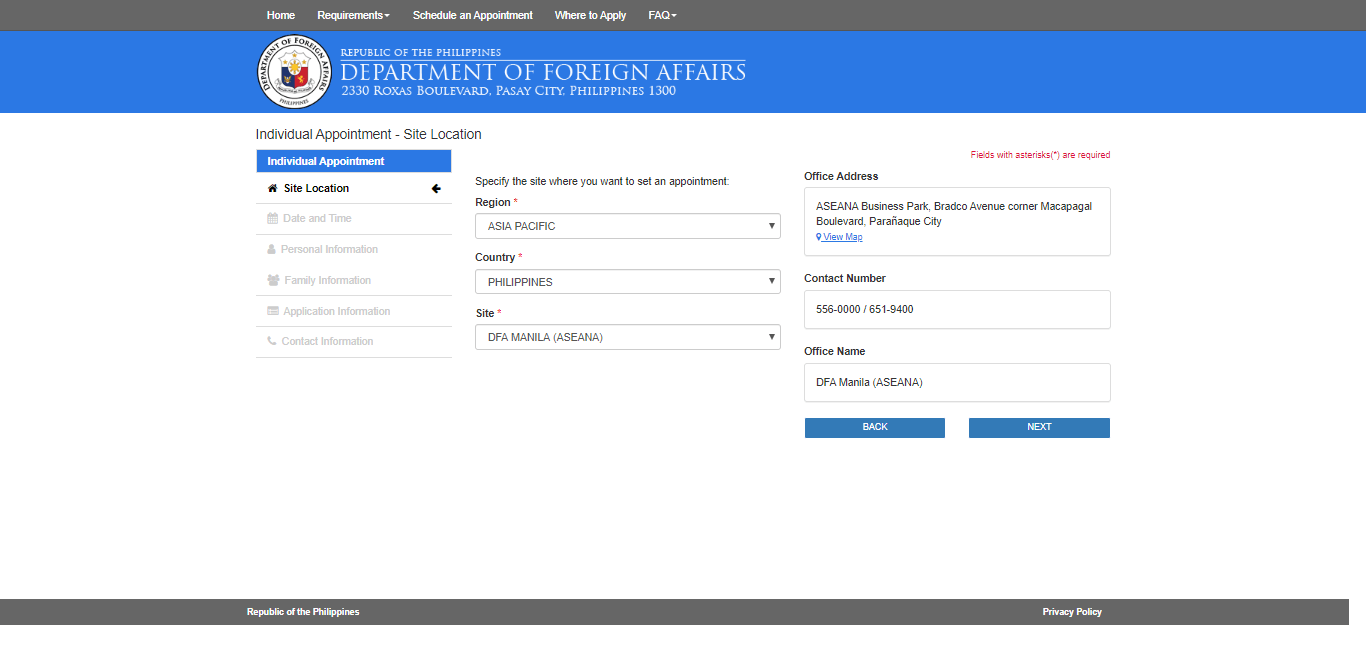 DFA Online Appointment to Get a Passport