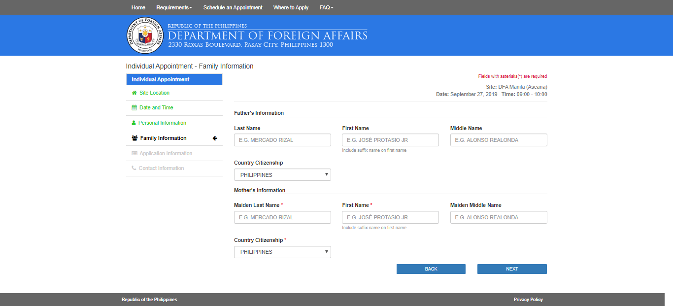 DFA Online Appointment to Get a Passport7