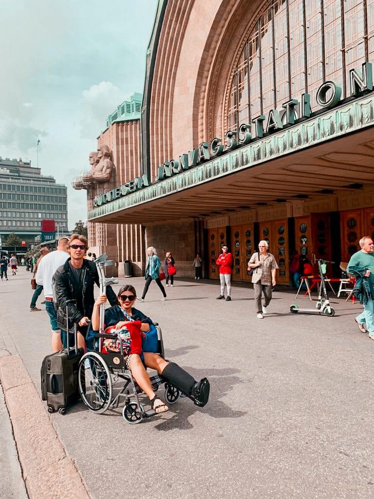Kach and Jonathan in Helsinki, Finland1