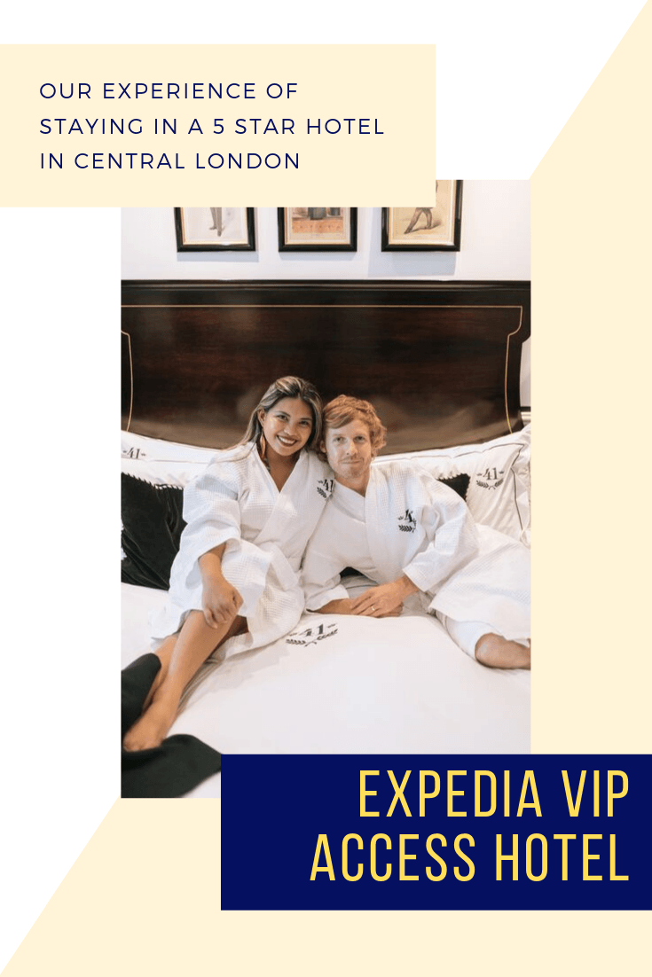 Our Experience of Staying in a 5 star Hotel in Central London1