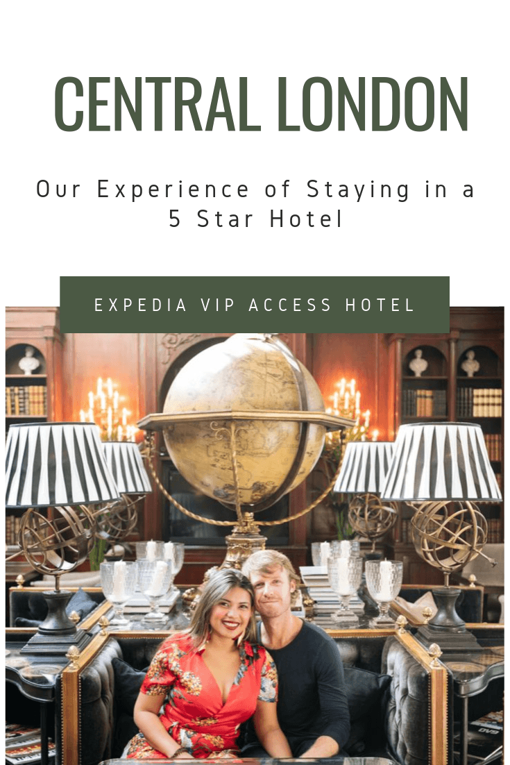 Our Experience of Staying in a 5 star Hotel in Central London2
